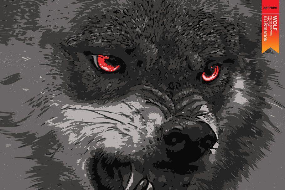 50++ Wolf graphics info