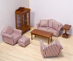 Melissa & Doug Deluxe Doll-House Furniture- Living Room Set  cheapdollhouse.tk