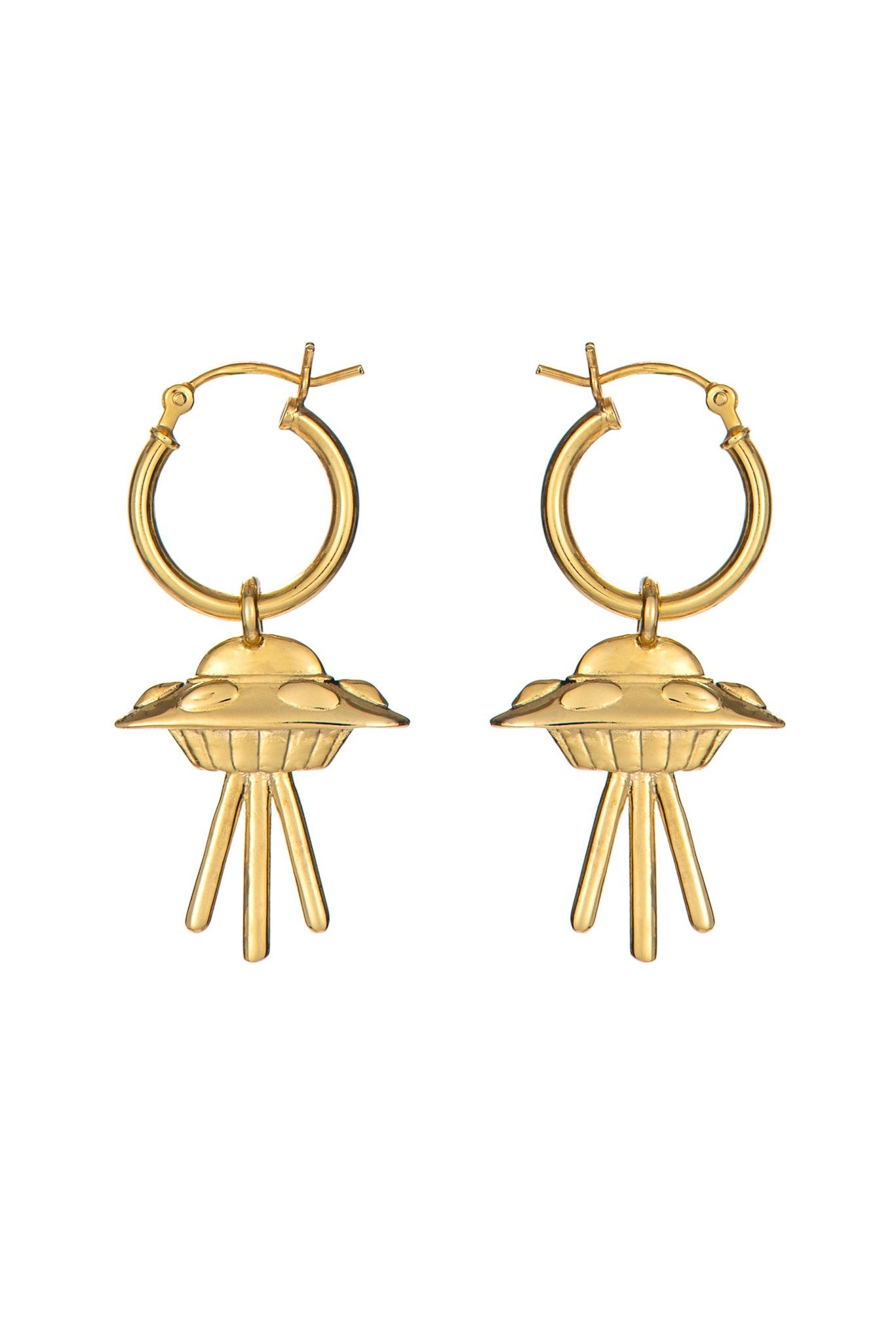 af65bb656 Flying Saucer Earrings | Little Rooms | Pinterest | Earrings, Weird ...