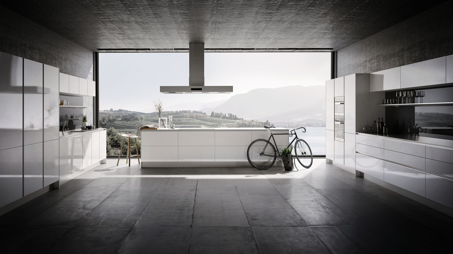 SieMatic Pure S2 kitchen in lotus white with island   Dream Home ...