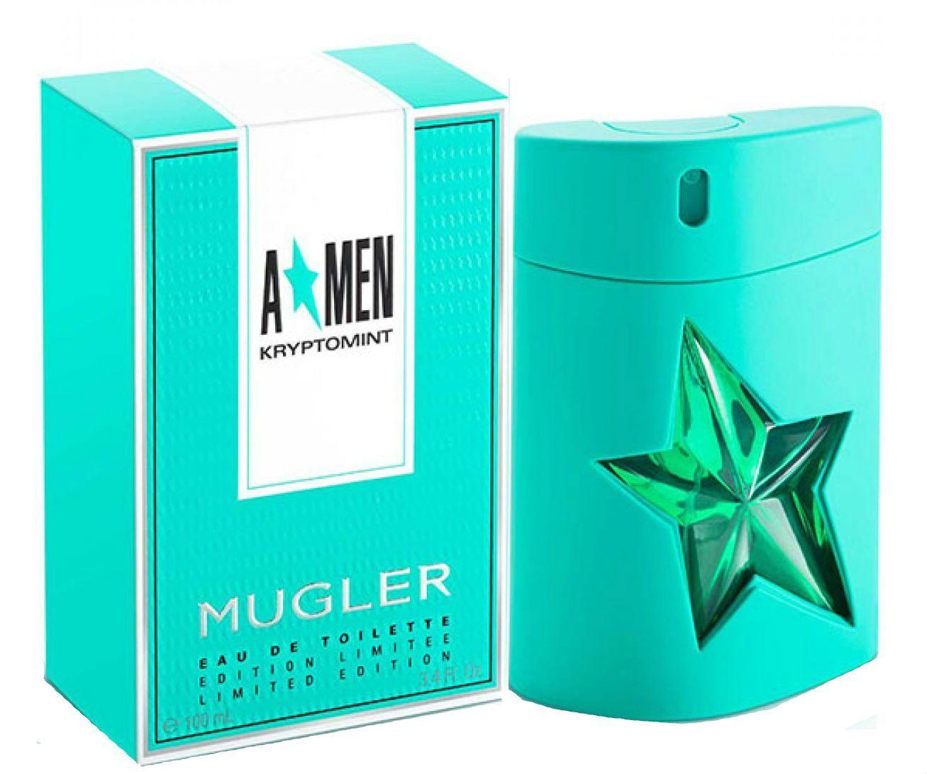 A Men Kryptomint Angel Thierry Mugler Eau De Toilette Spray 3 4