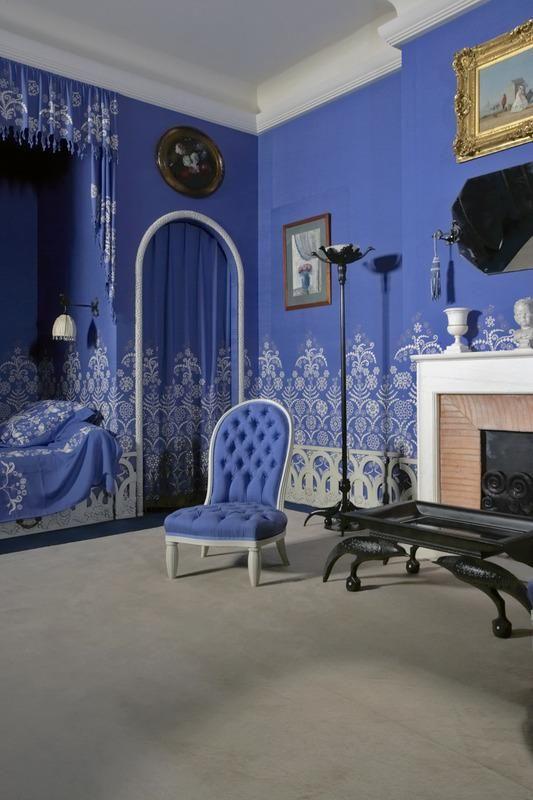 Bedroom of Jeanne Lanvin, fashion designer | Museum Doentation ... on