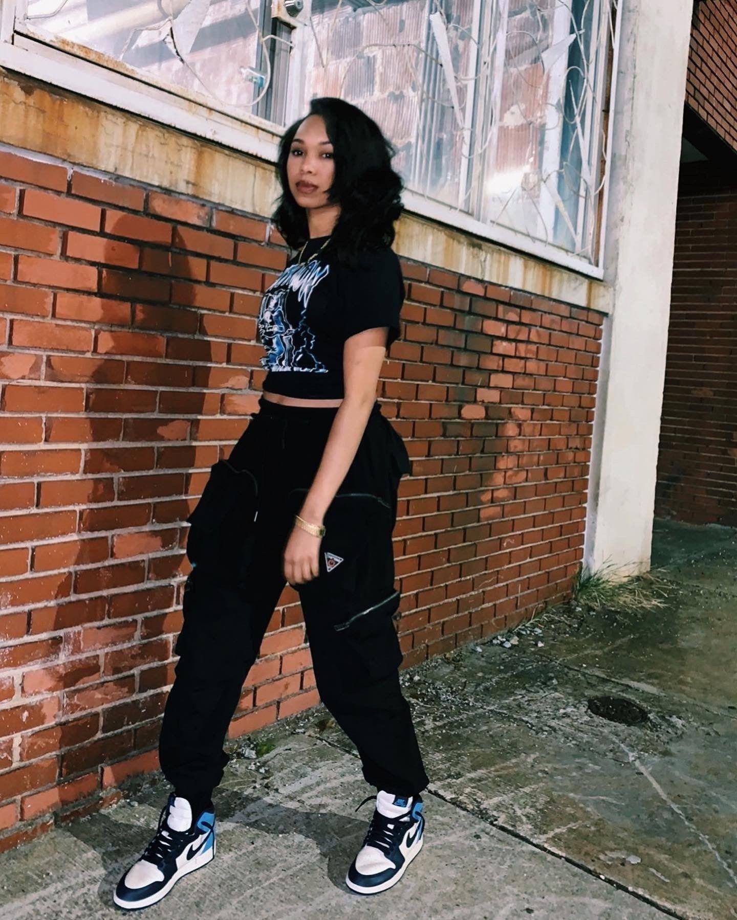 Pzy✨ on  Black girl outfits, Black girl fashion, Streetwear fashion