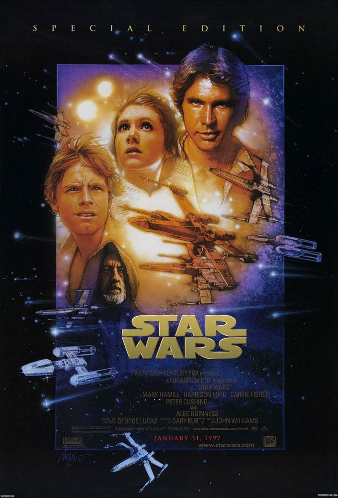 The History Of Star Wars Movie Posters With Images Star Wars Movies Posters Star Wars Episodes Star Wars Episode Iv