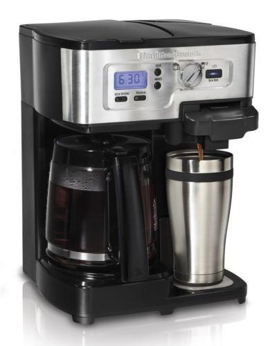 Hamilton Beach 2 Way Flexbrew 1 12 Cup K Cup Ready Coffee Maker