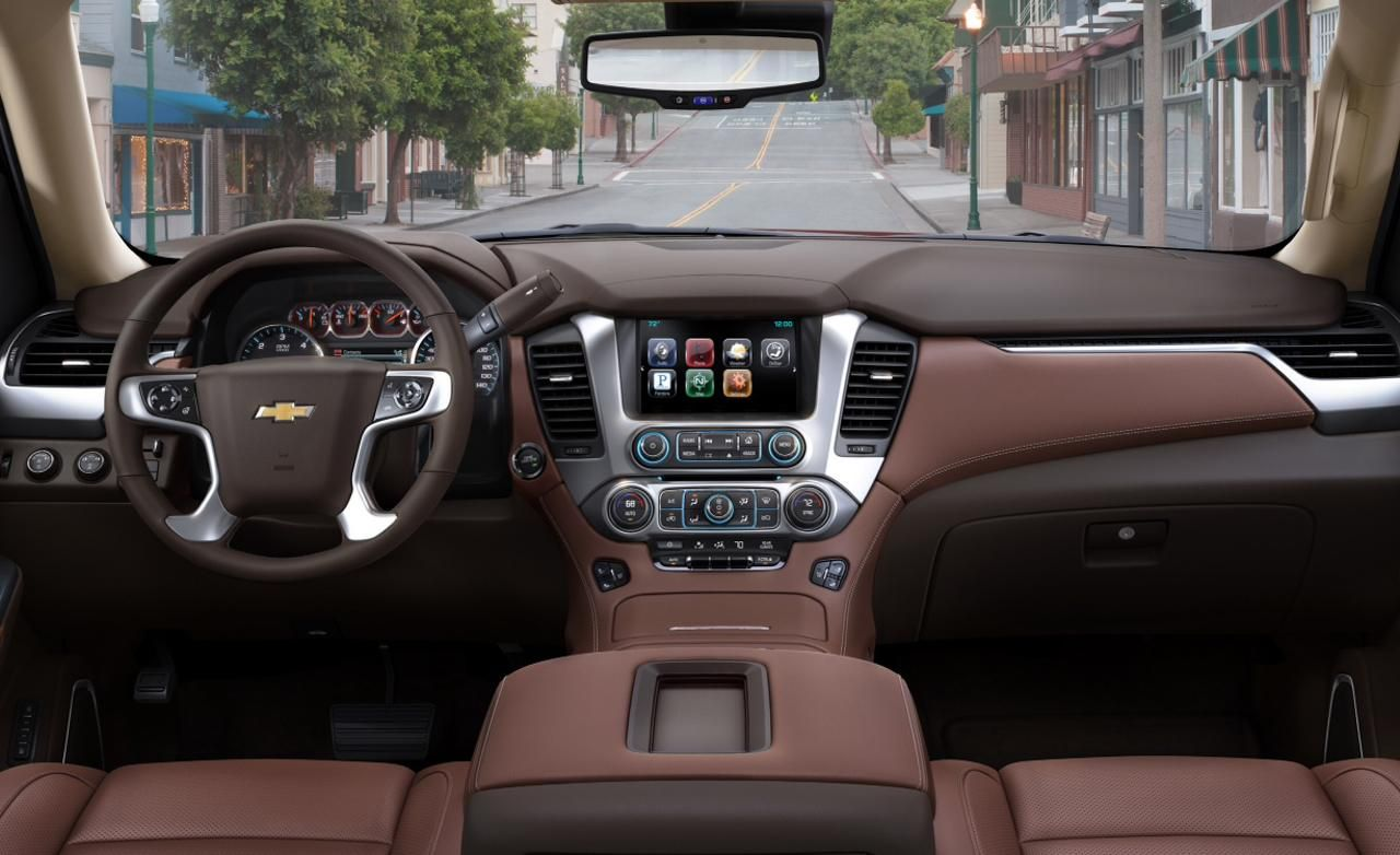 2015 chevrolet tahoe and suburban chevrolet suburban interior 1 wallpaper