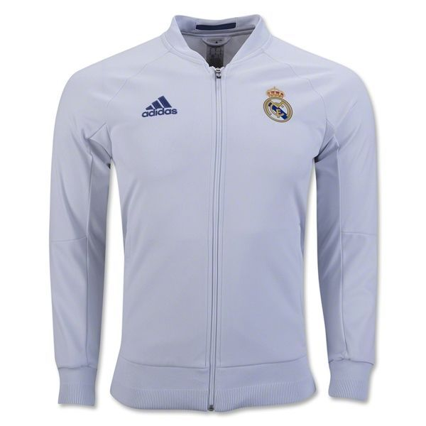 adidas Men's Real Madrid 3 Stripes Track Jacket White | Products |  Pinterest | Products