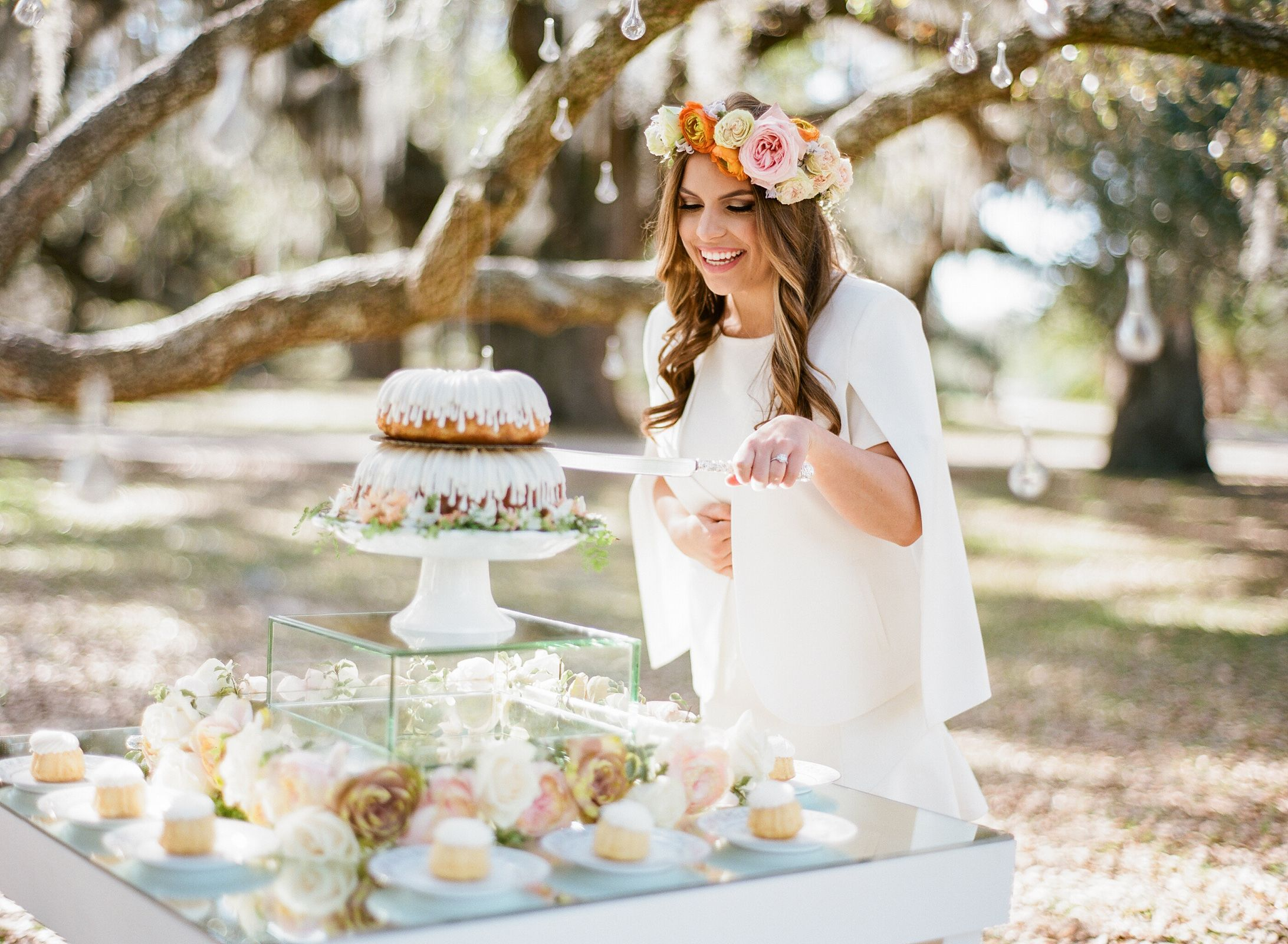 April Showers Bring May Flowers Outdoor Bridal