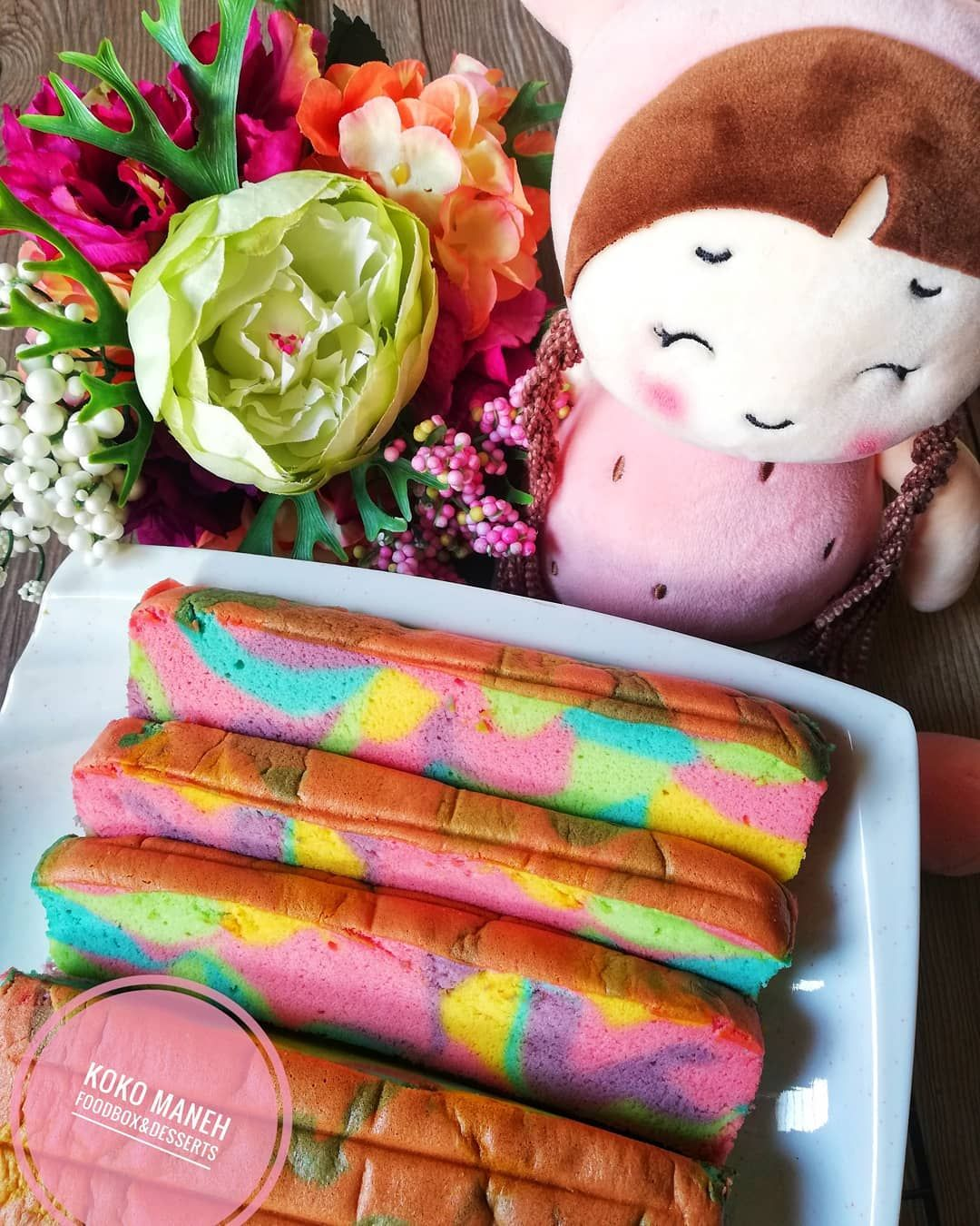 Unicorn Ogura Cake Rupa Mcm Spongecake Tapi Step By Step Nak Buat Dia Mcm Chiffon Cake Pastu Nak Bake Dia Pulak Sama Mcm Japanese Cotton Cake Haaa Boleh