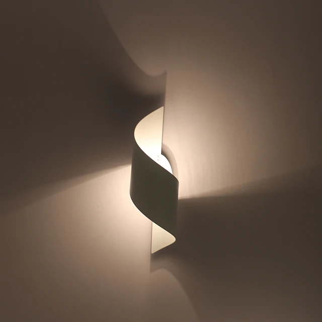 Creative New Design Simple Modern Contemporary Flush Mount Wall Lights Bedroom Study Room Office Metal Wall Light 110 120v 220 240v 60 W E26 E27 In 2020 Metal Wall Light Wall Lights Wall Lights Bedroom