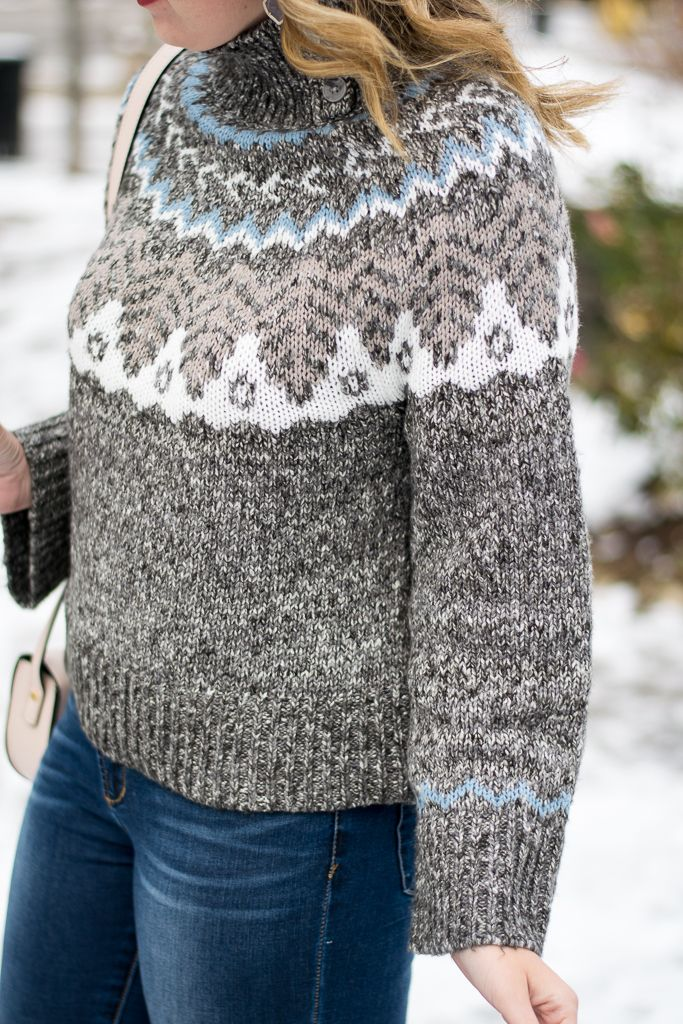 Holiday outfit idea by Emillion Thoughts // fair isle sweater ...