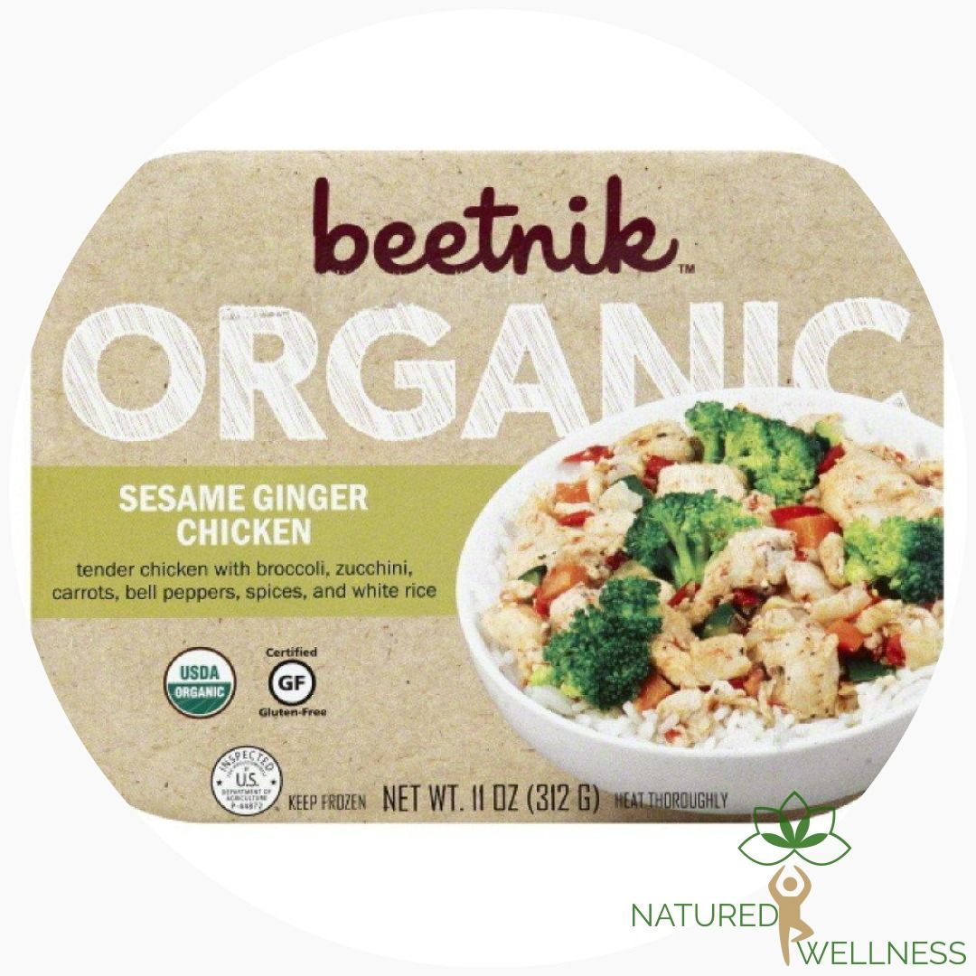 BEETNIK FOODS Sesame Ginger Chicken, 11 oz Food, Ginger