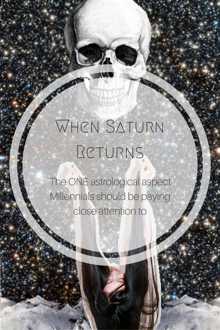 Saturn Return A Heads Up To Millennials Saturn Return Saturn