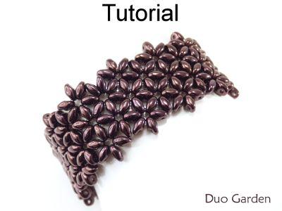Duo Garden Bracelet Beading Pattern Simple Bead Patterns