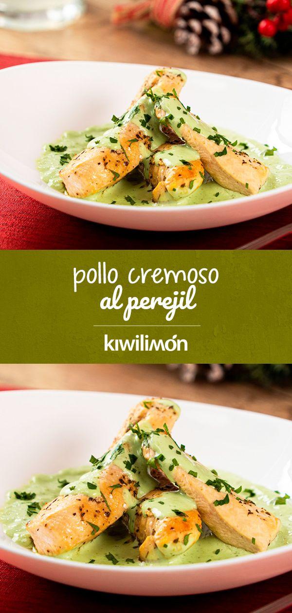 Pollo Cremoso Al Perejil Kiwilimon Recetas Comida Comida Recetas Comida Rapida