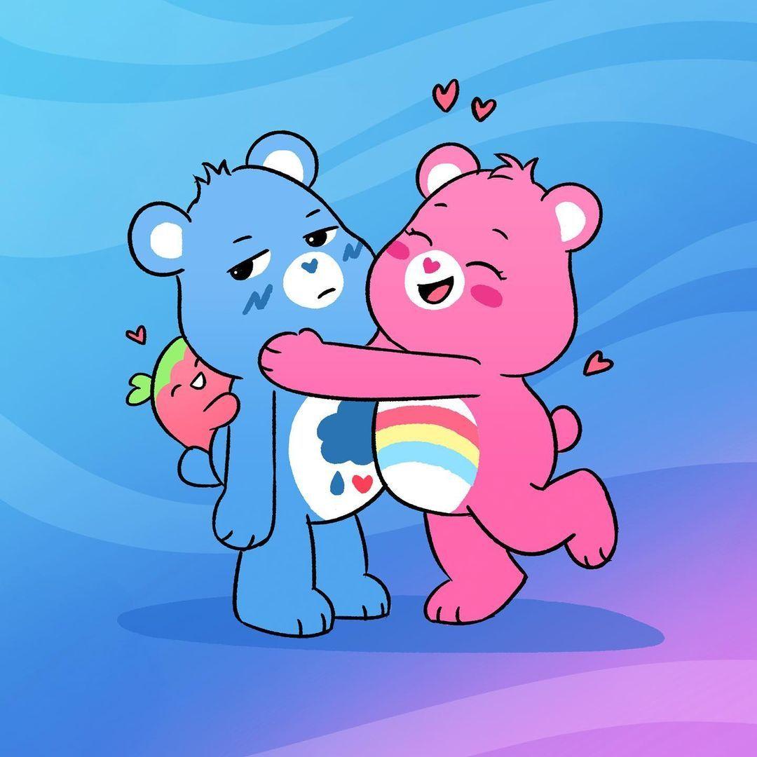"""Care Bears™ on Instagram: """"Happy Hug a Bear Day! 💙"""