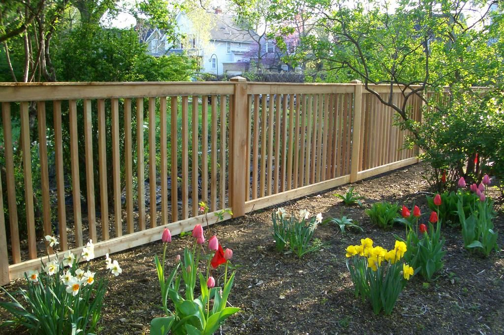 Best 2X2 Spindle Picket Fence Could Be Painted To Match House 400 x 300