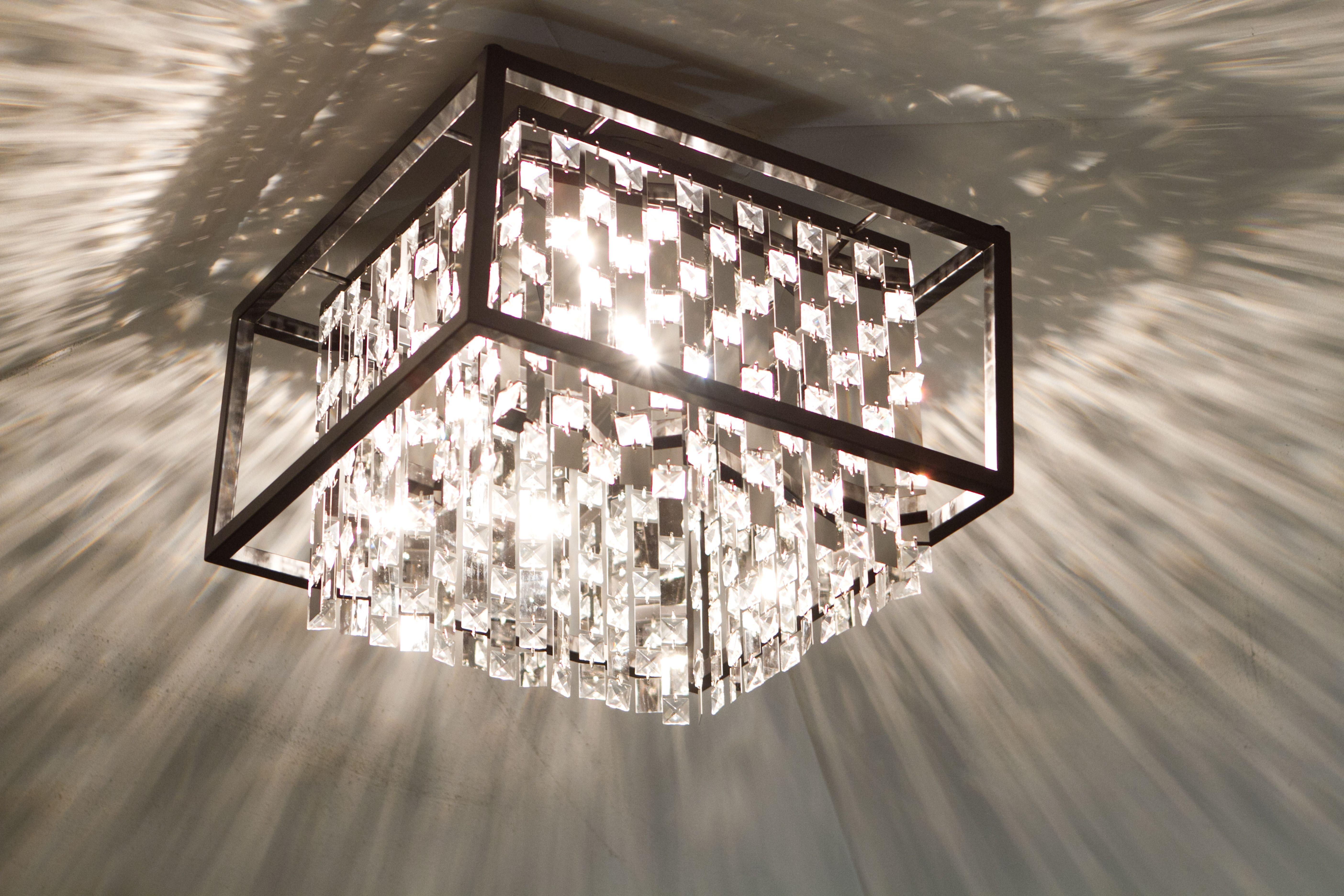 Master Bedroom Amethyst Semi Flush Mount Light Dvp6318 Dvi Lighting