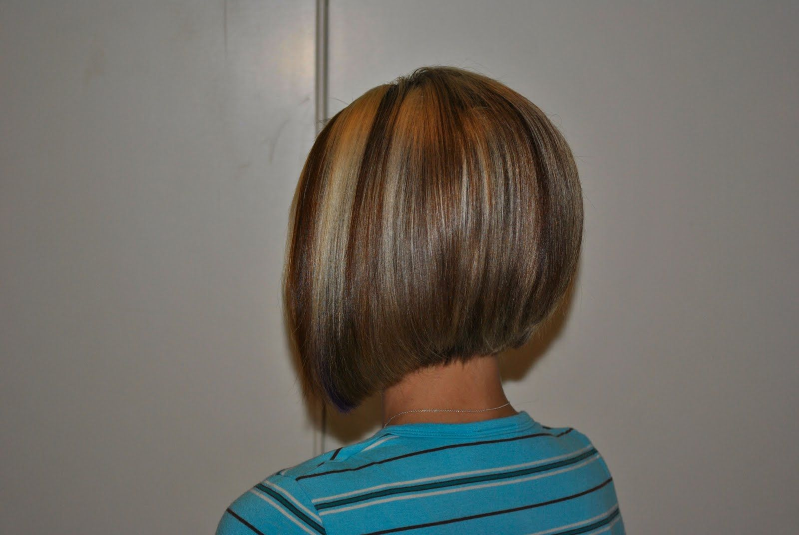 Back View Of A Line Bob Haircut Google Search Bob In 2019 Hair