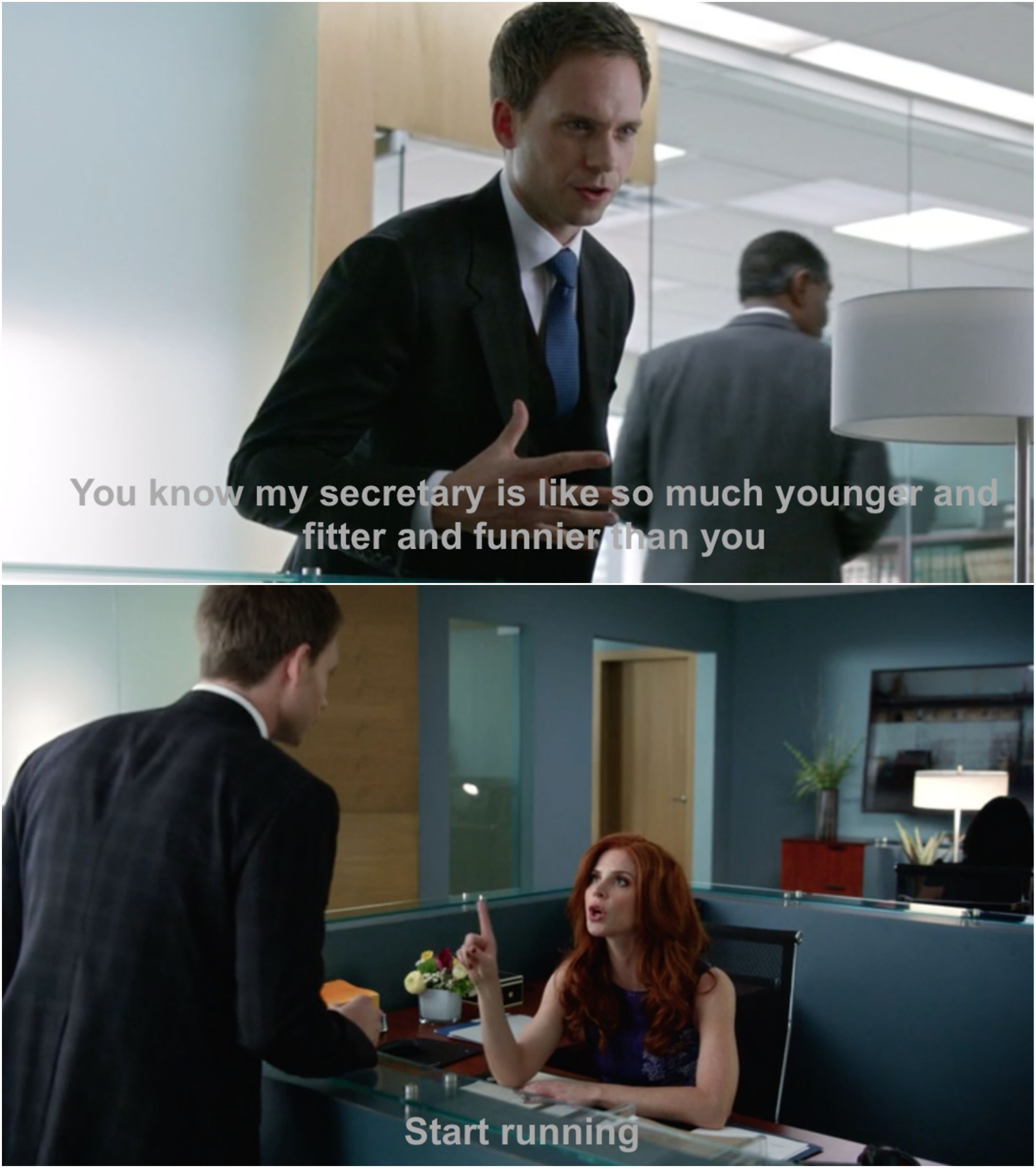 suits harvey specter office. Suits - Donna And Mike #Season4 Harvey Specter Office