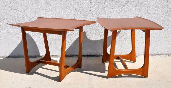 miami 1960s pair mid century modern adrian pearsall craft associates table 1200 http - Mid Century Modern Furniture Miami