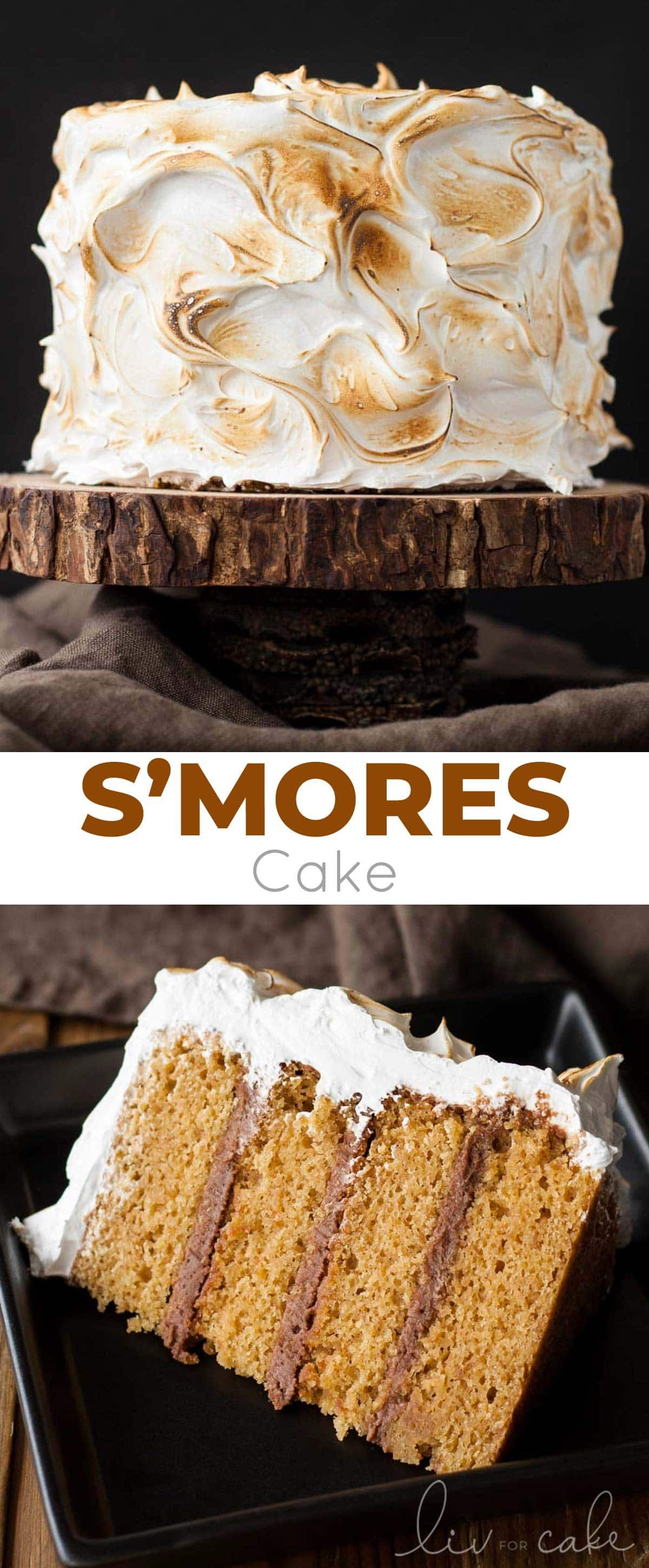 This S Mores Cake Is Better Than The Real Thing A Graham