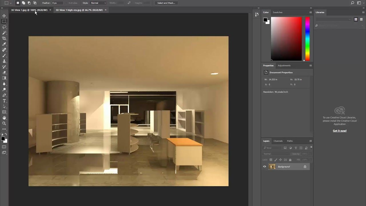 interior design software 3d rendering photoshop