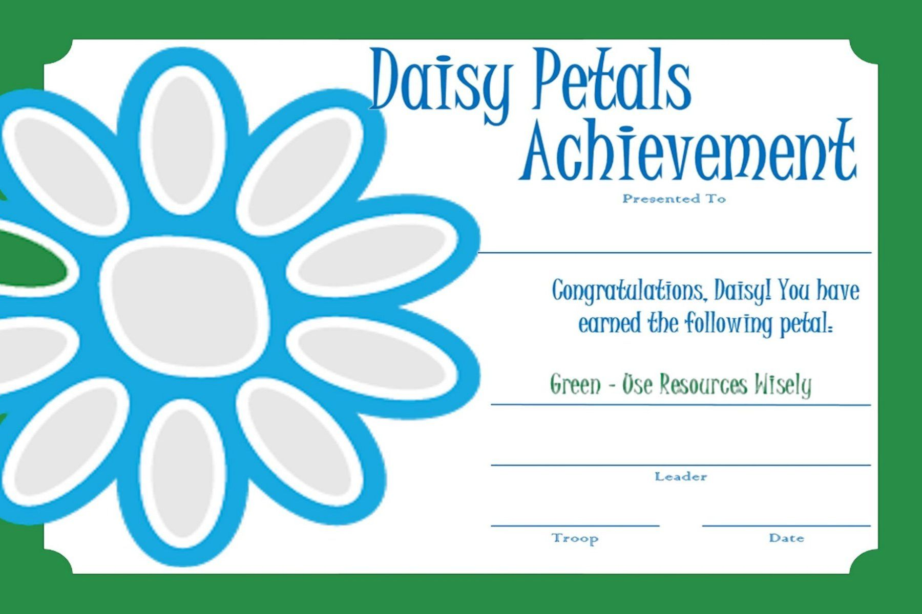 Girl Scout Daisies Petals Topsimages