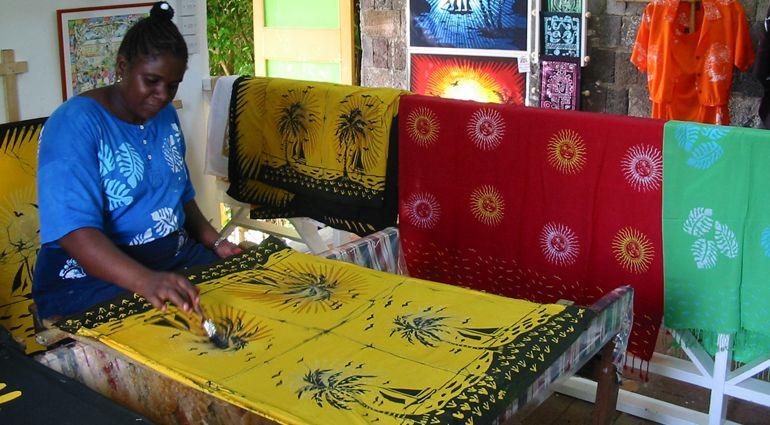 Caribelle #Batik, St. Kitts #Caribbean #Textiles