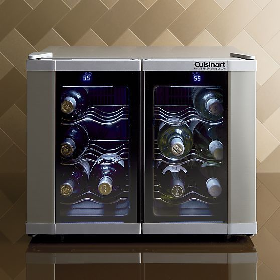 Cuisinart 174 Dual Zone Wine Cooler Wine Amp Cheese Party
