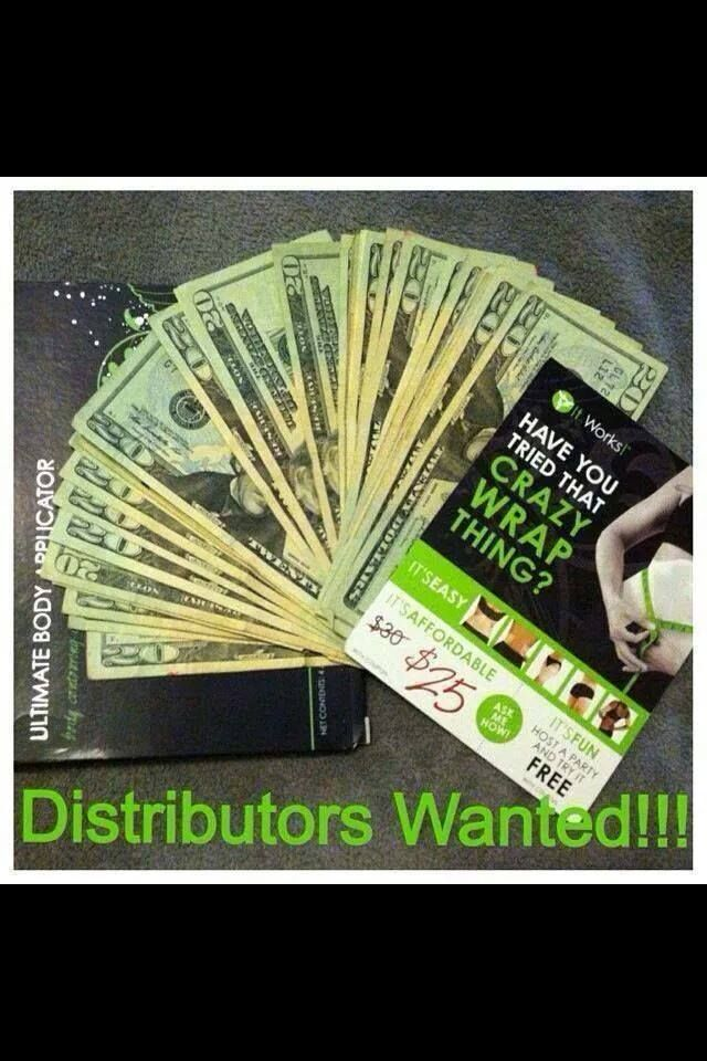 Are you looking for a job?? Only $99 to get started, which you earn back when you sell the 4 wraps in your kit. It's a RISK FREE investment!!! Call me!! 678-315-0818