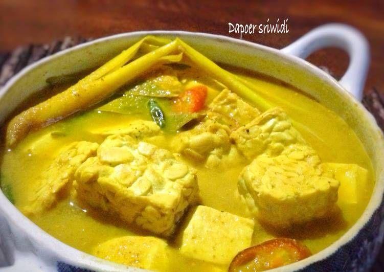 Resep Kuah Tahu Tempe Oleh Dapoer Sriwidi Resep Masakan Resep Masakan Resep