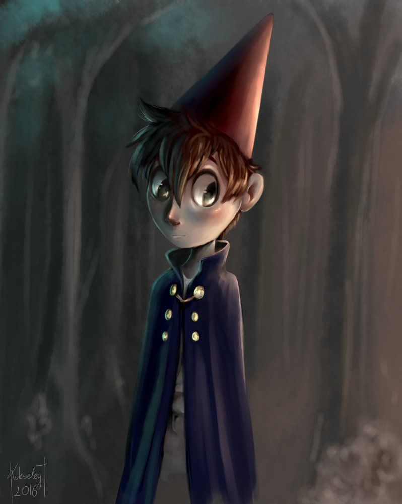 Over the garden wall art style  Quick warm up Wirt c Over the garden wall  Over the Garden Wall