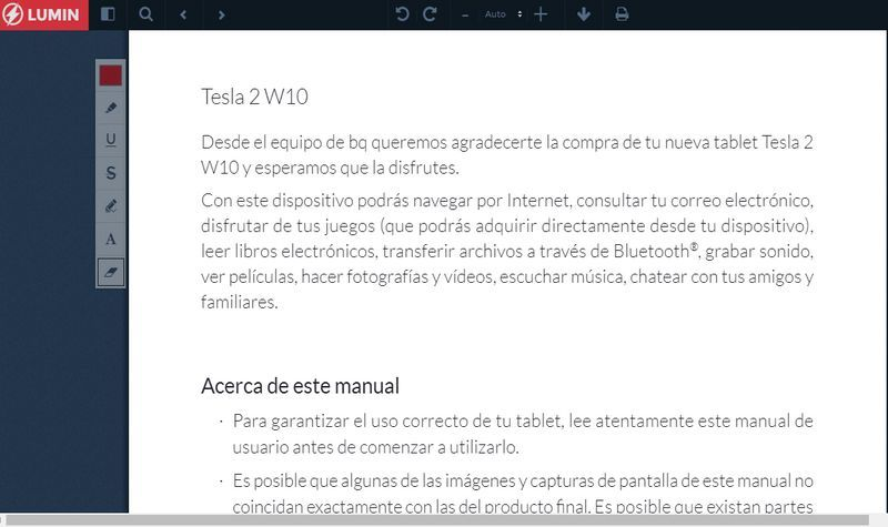 Lumin Pdf Web Para Leer Editar Y Compartir Documentos Pdf Internet Social