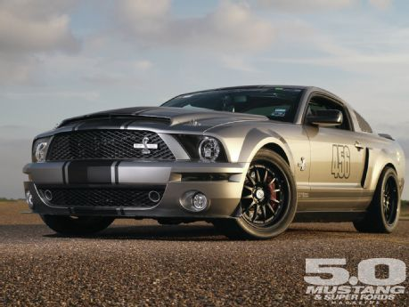 2008 Ford Shelby Gt500 Mercurial Vapor Chris Anderson And Revan Racing Bred A Super Snake Into Standing Mile Missile
