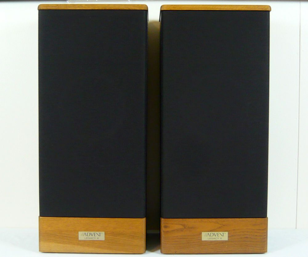 details about advent legacy iii classic vintage speakers. Black Bedroom Furniture Sets. Home Design Ideas