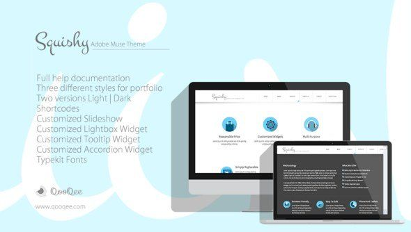 50 High Class Premium and Free Adobe Muse Templates | webspiration