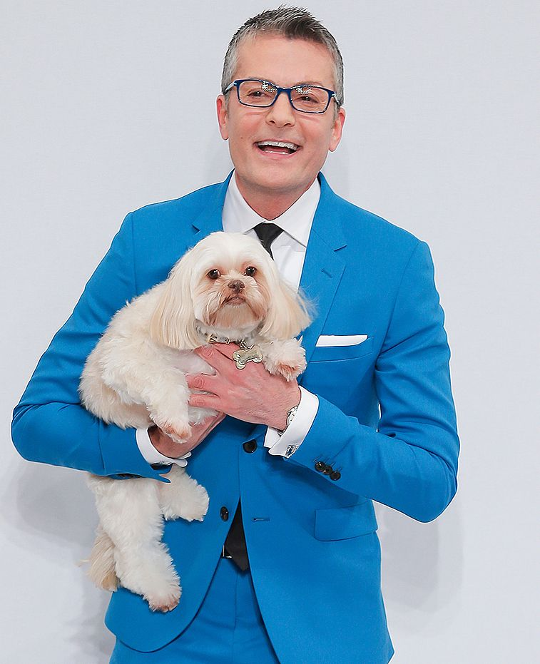 Say Yes To The Dress Star Randy Fenoli His Beloved Dog Chewy Beloved Dog Randy Fenoli Dogs