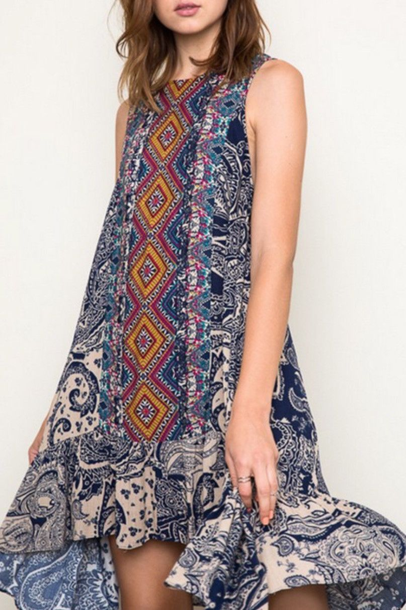 Starry Night Tunic Dress