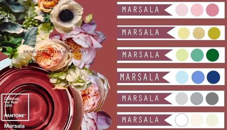 Картинки по запросу цвет марсала как сочетать фото | Цветы ...