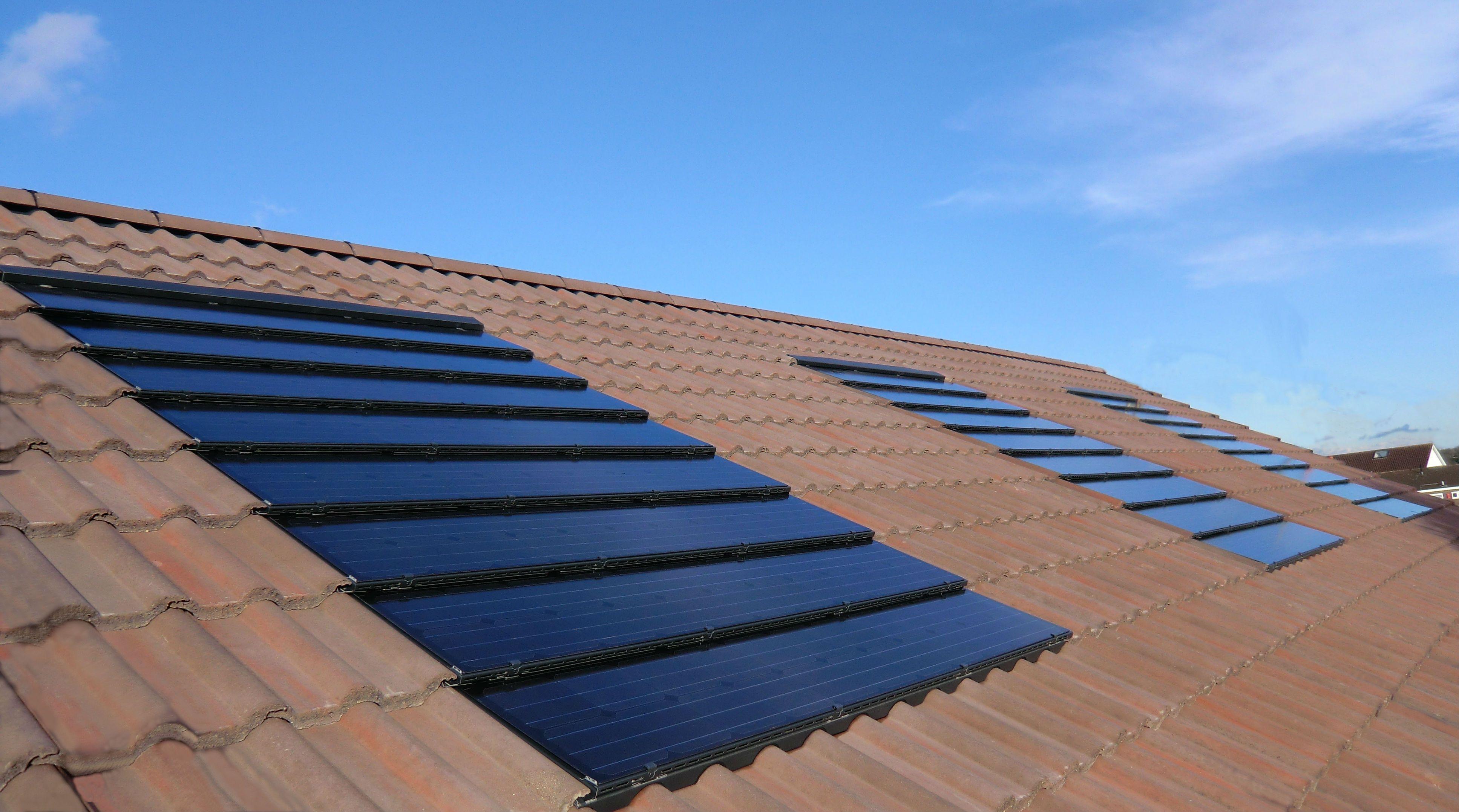 Solar Panels On Tile Roof Solar Panels Solar Solar Roof