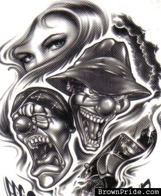 5082376d4854d Baby Gangster Love Art | Smile Now Cry Later Tattoos | this is for ...