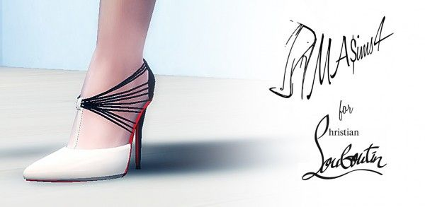 71647c56209e MA ims 3  Christian Louboutin Stiletto Shoes • Sims 4 Downloads ...