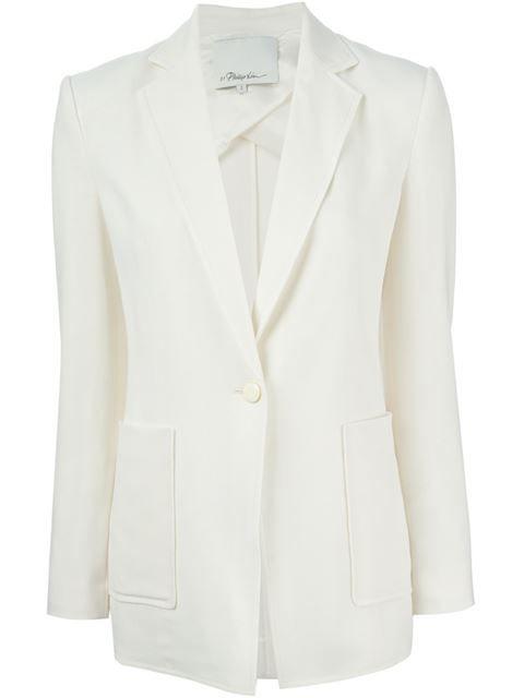 3.1 PHILLIP LIM Lightweight Crepe Blazer. #3.1philliplim #cloth #blazer