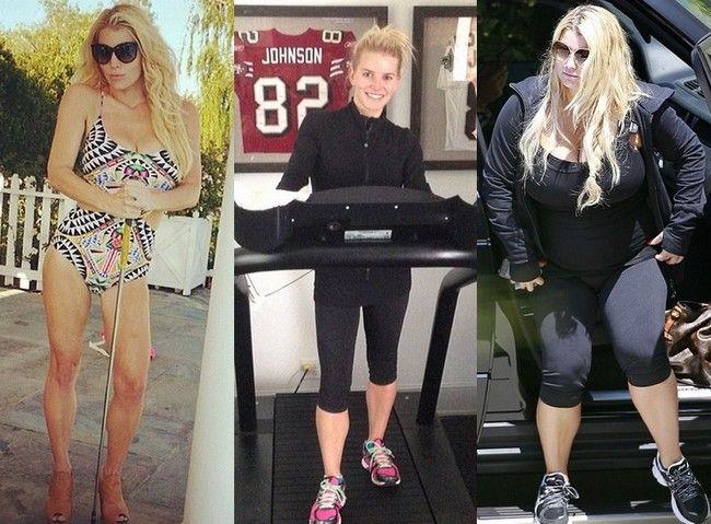 Jessica simpson 2014 weight