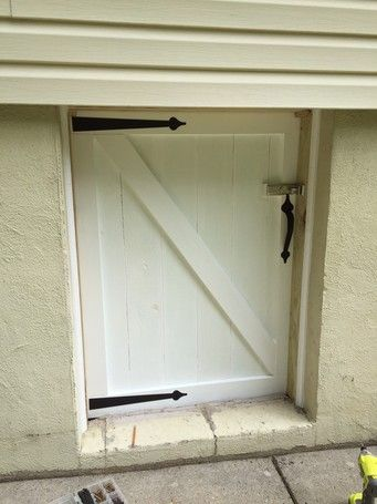 Ryobi Nation Crawl Space Door Renovation Crawl Space Door