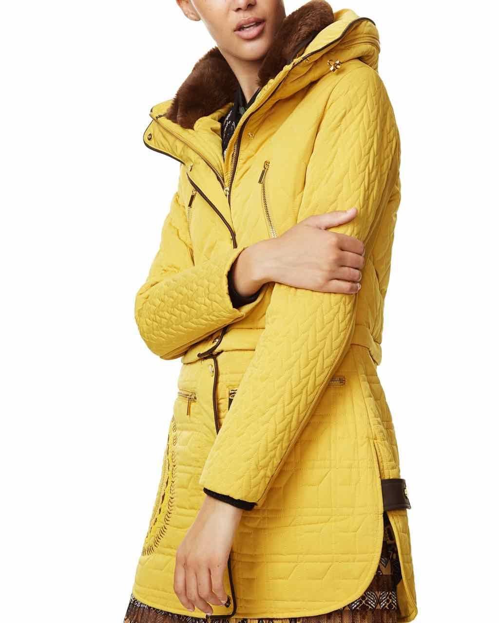Desigual Coat California 17wwew52 Jacket Black Removable Buy Online Fall Winter Jacket Desigual Coat [ 1280 x 1024 Pixel ]