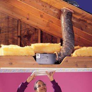 How to Install a Bathroom Fan | Diy home repair, Bathroom ...