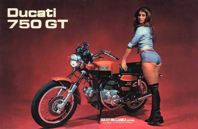 Motorcycle Girl 066 ~ Return of the Cafe Racers