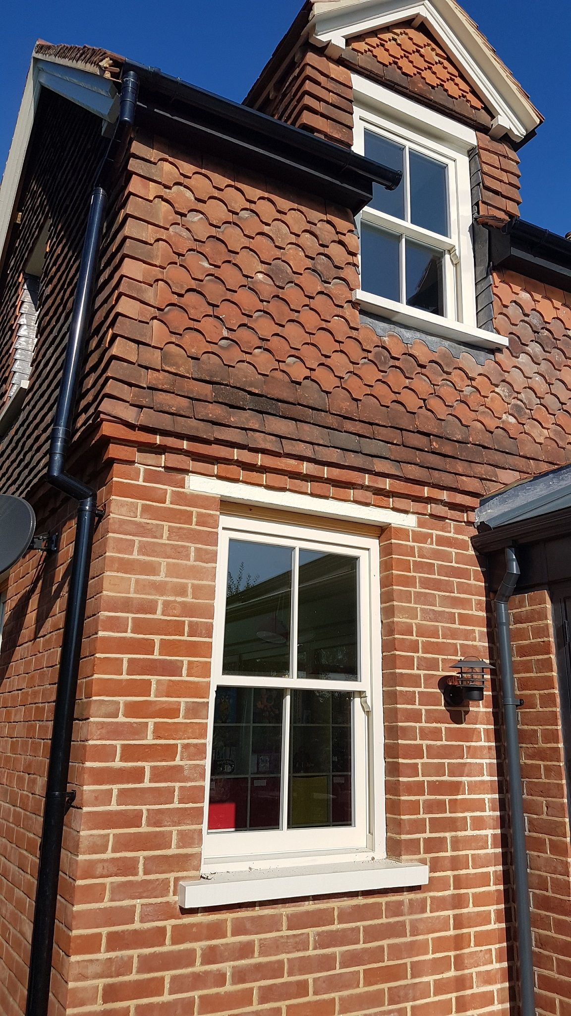 Seven Oaks 2 over 2 sash windows, supplied by Timber